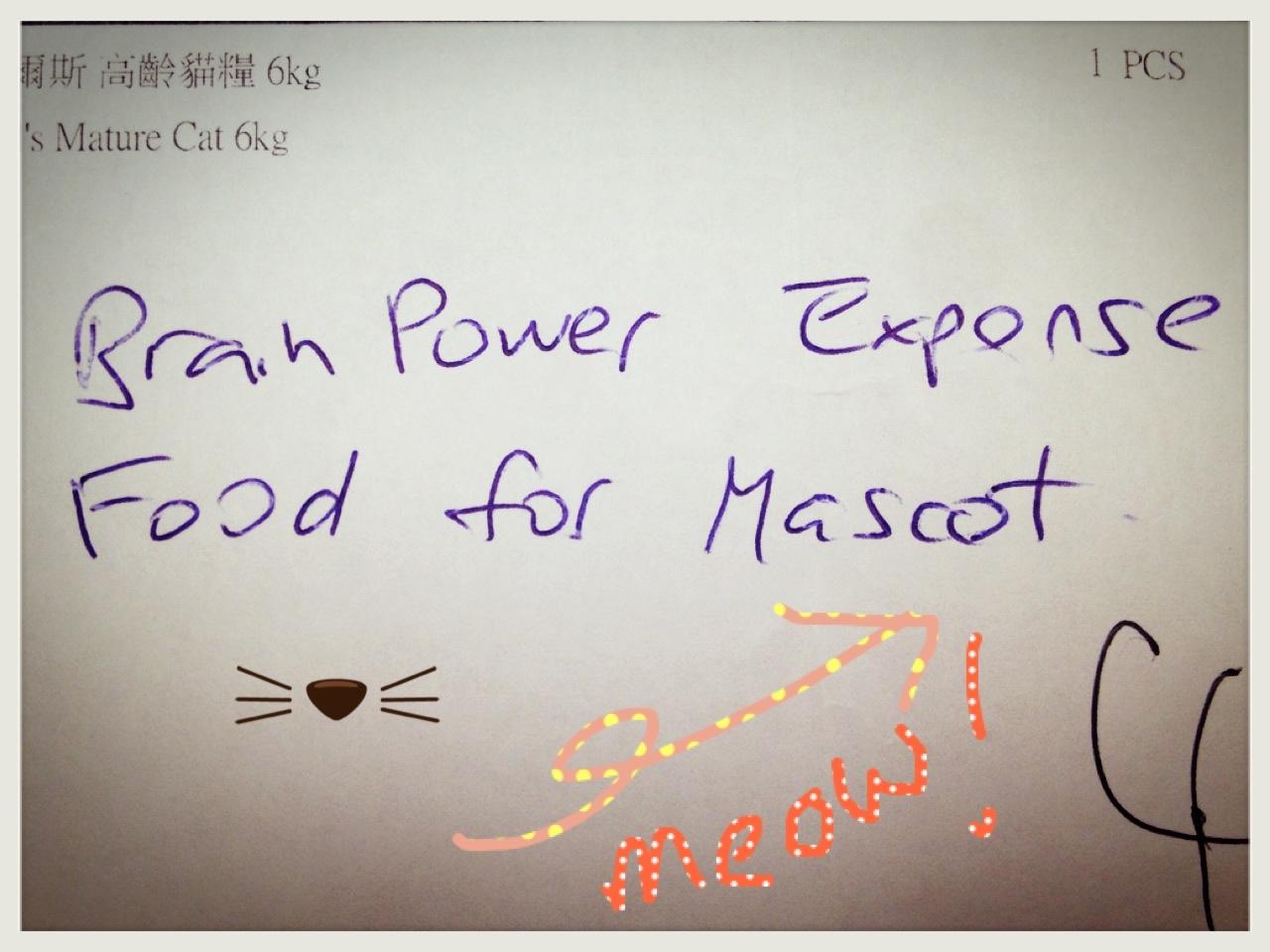 P: Food for Mascot