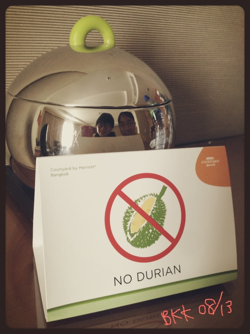P: No Durian Allowed