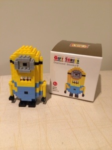 P: Minion mini blocks