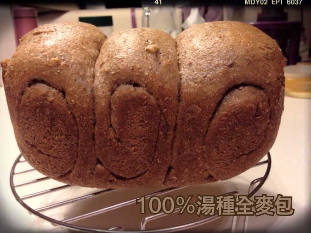 C: 100% 湯種全麥包