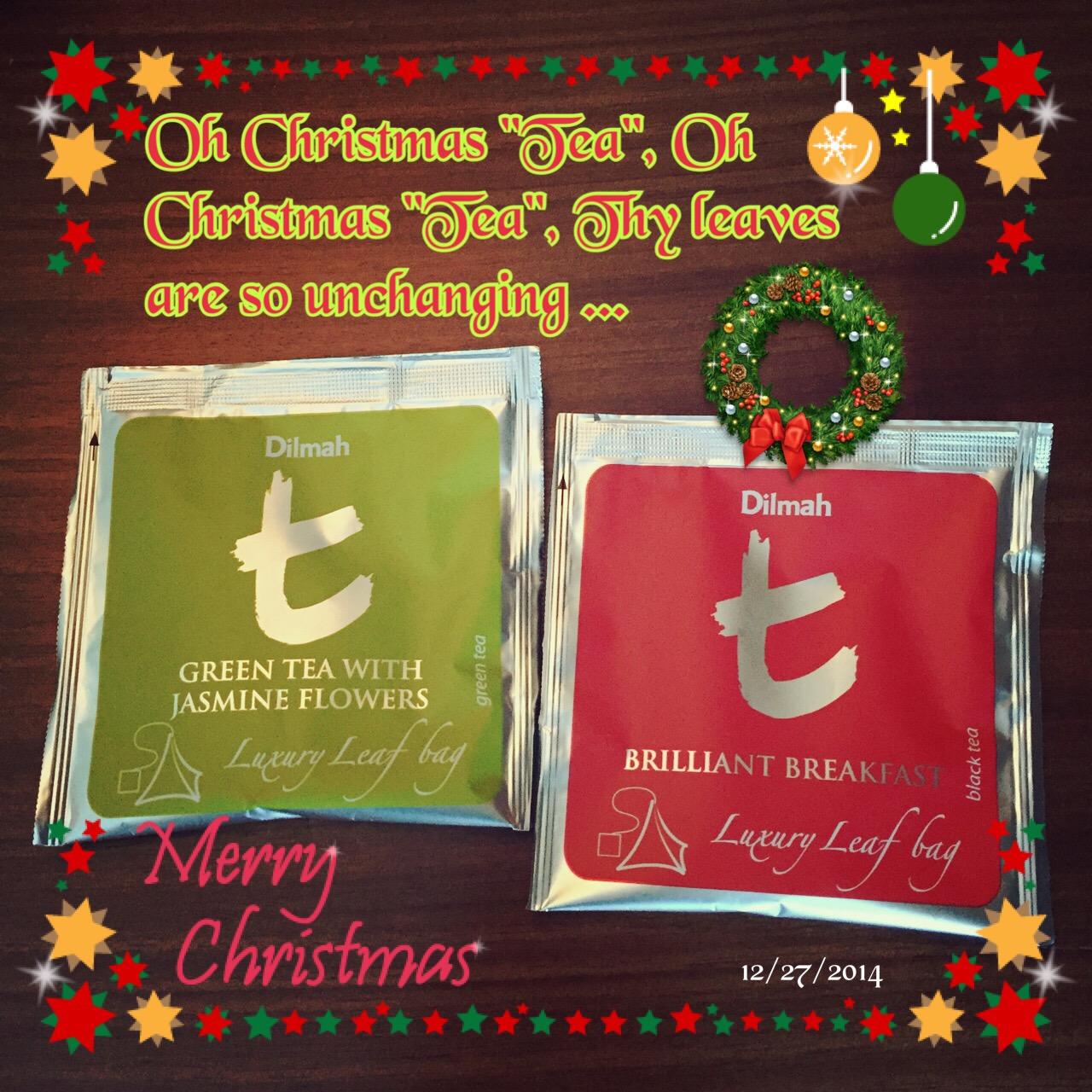 B: Christmas Tea