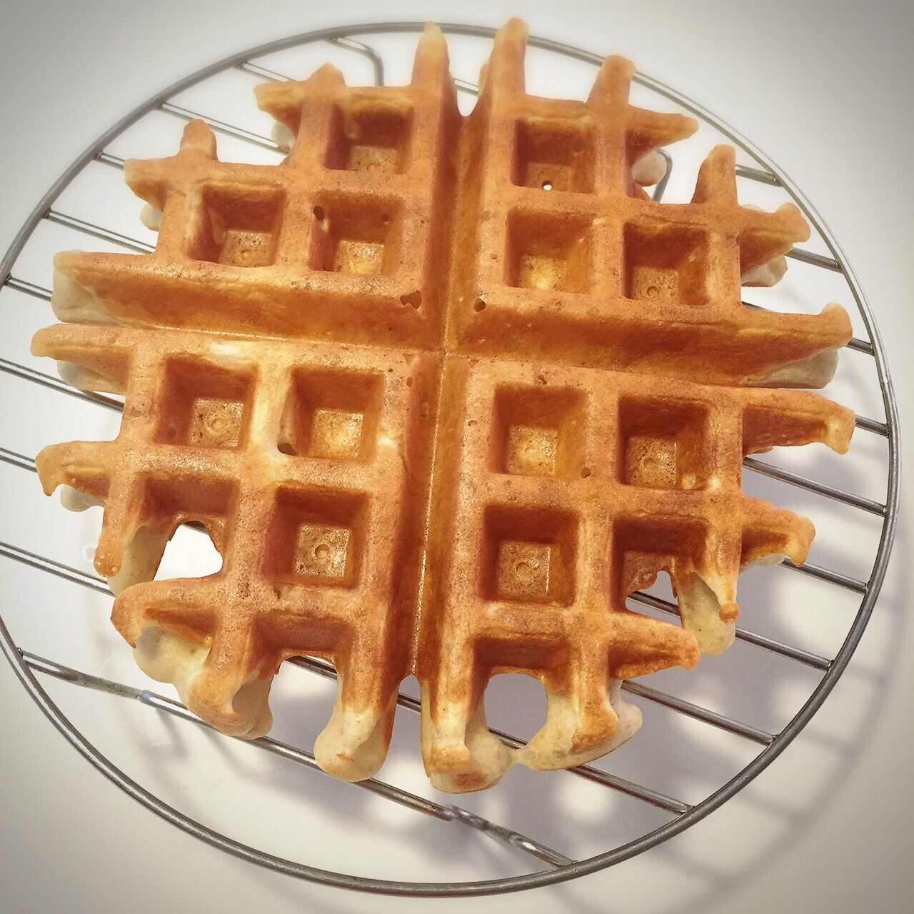 R: Buckwheat Waffle (Yeast Version)