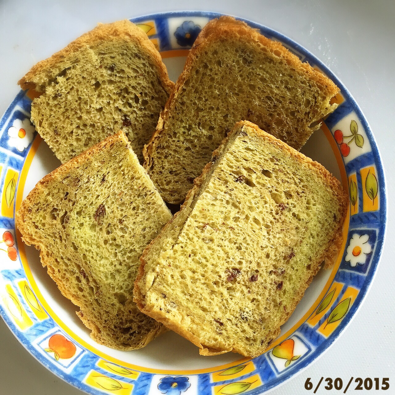 R: Matcha Red Bean Loaf