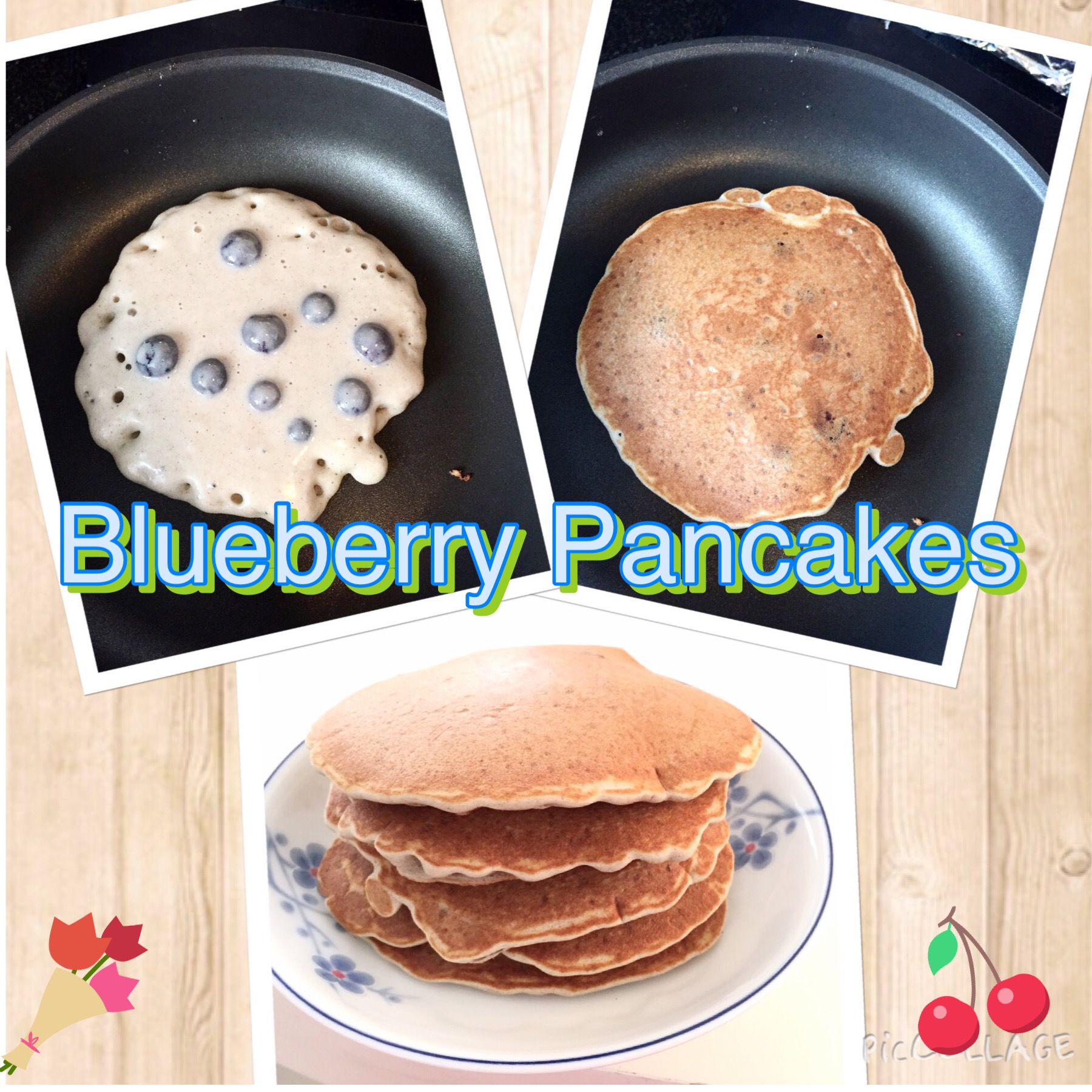 C: Buckwheat Blueberry Pancake