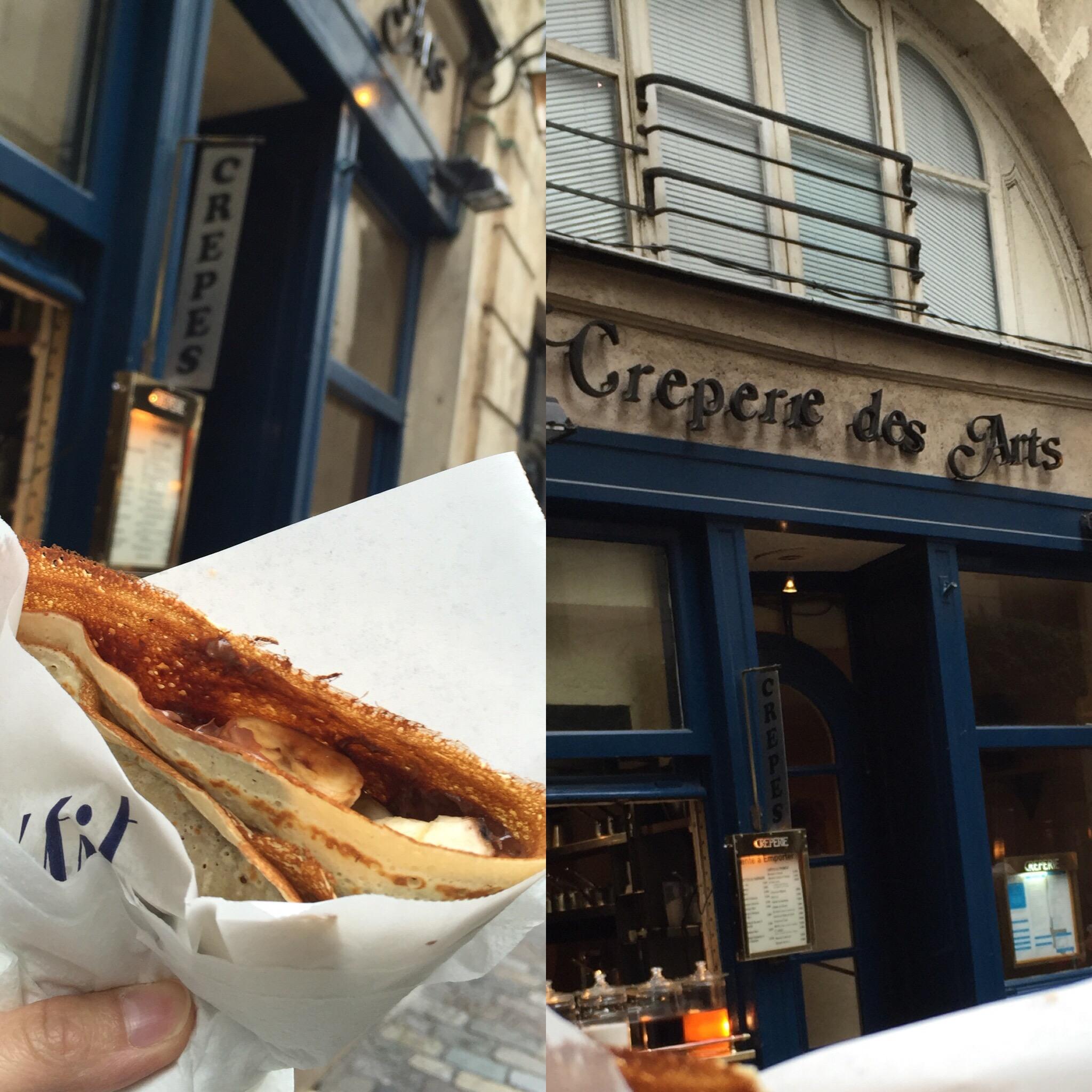 E: Paris Good Eat - Crepes