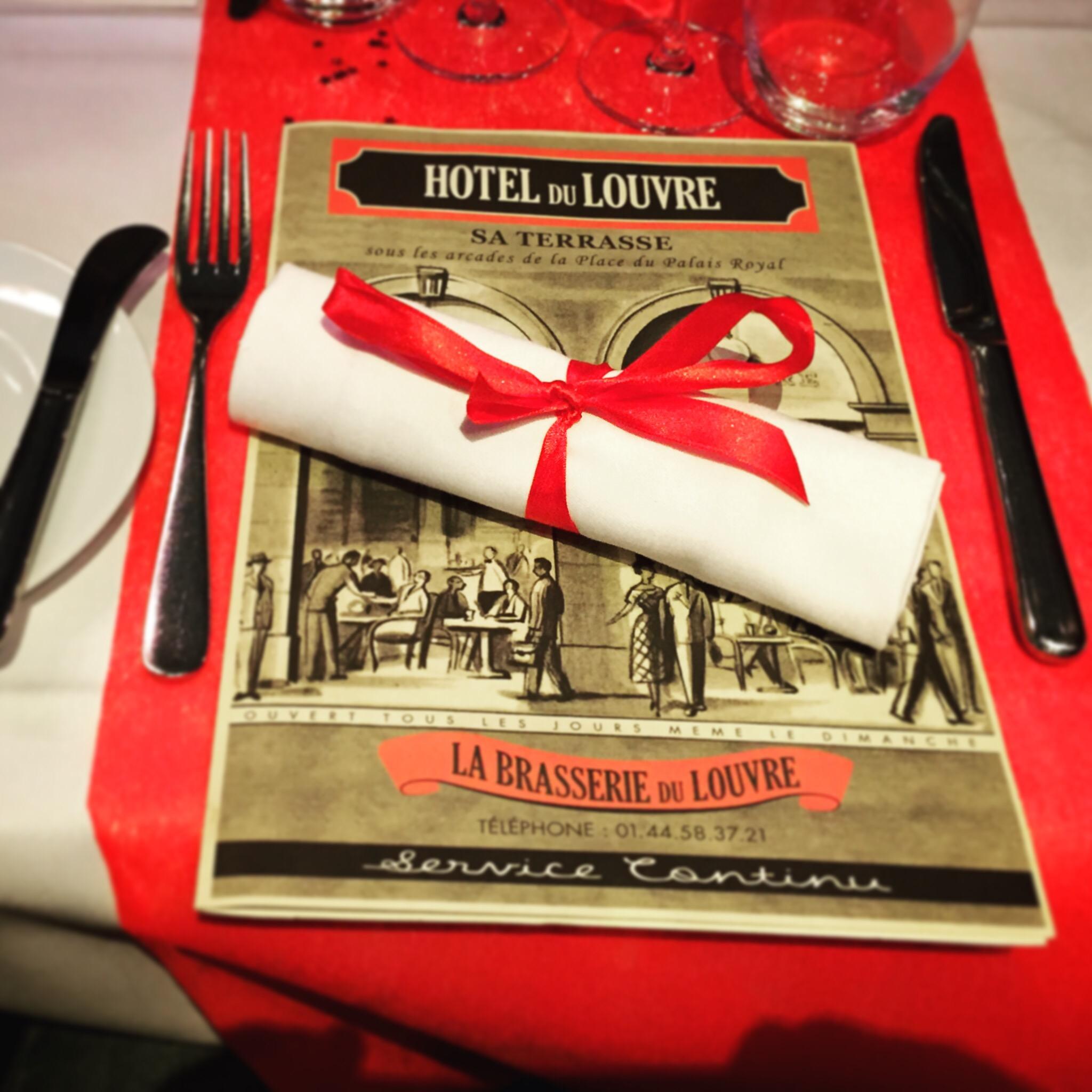 E: Paris Good Food - la brasserie du louvre